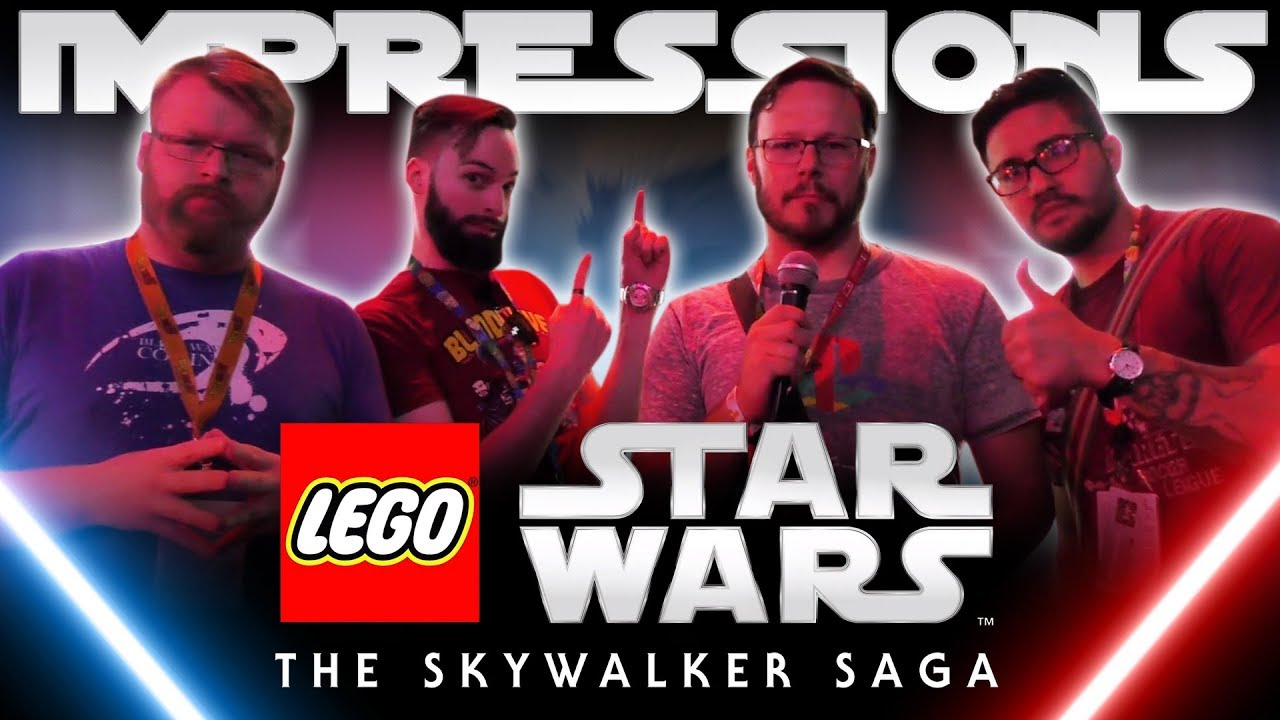 Lego Star Wars The Skywalker Saga Exclusive Gameplay Impressions E32019 Youtube