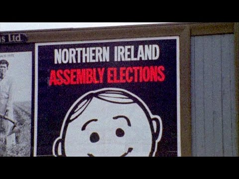 Ballot Box Not the Bomb - Ulster Assembly Elections (1973) – extract | BFI National Archive