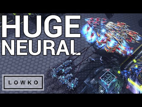 StarCraft 2: HUGE NEURAL PARASITE! (Zerg Live Game)