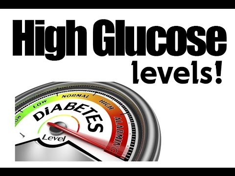 High Glucose Levels - How To Reduce Glucose (3 Easy Ways)
