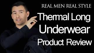 Men's Thermal Long Underwear Review - Carol Davis Sportswear Fleece Web Foot Body Sock