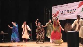 Raas and Garba - Dholi Taro Dhol Baaje - Savita/Swiya/Prakruti/Sudip/Saqueib/Abhishek