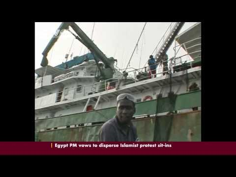 Race Against Time For Senegal To Prevent The Oil Spillage From The Aground Ship Off Dakar