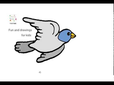 Dibujar Una Paloma Volando Youtube
