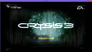 Tuorial Install Crysis 3 Reloaded Work 100% ON PC