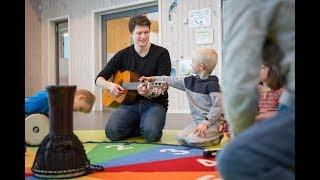 Barnehagelærer som brenner for musikk