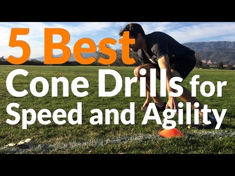 5 Best Cone Drills for Speed and Agility - YouTube