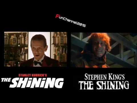 The Shining Movie 1980 VS The Shining MiniSeries 1997Сравнение похожих сцен