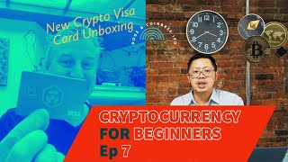 Cryptocurrency Podcast For Beginners Ep 7 - Coinbase Ipo & Crypto Visa Unboxing