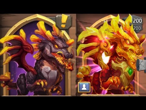 New DRAGON Hero Explaining His Ability BEAST Castle Clash