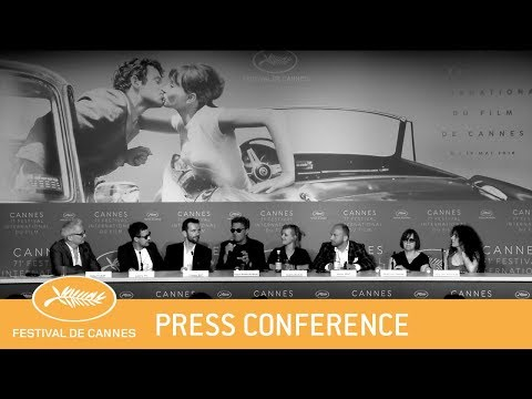 ZIMNA WOJNA - Cannes 2018 - Press Conference - EV
