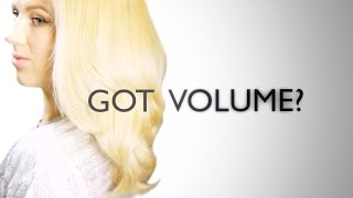 How To: Voluminous Hair with Straightener Thumbnail