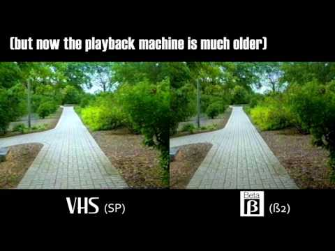 Comparing Beta & VHS on Quality: Was Beta Really Better?