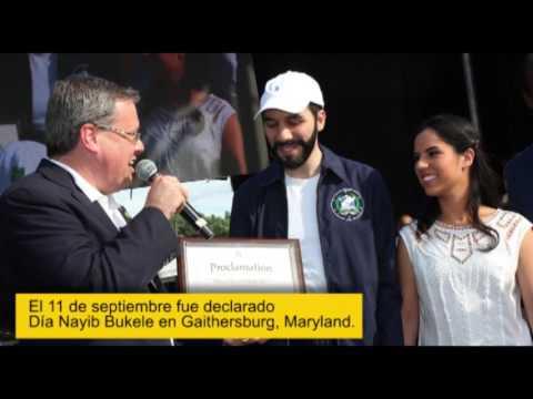 El alcalde de San Salvador Nayib Bukele en Washington-El Tiempo Latino