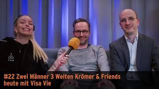 """""""Zwei Männer 3 Welten"""" – Krömer & Friends mit Visa Vie"""