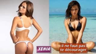La plus belle femme du Monde Xenia Tchoumitcheva par Ledoux paradis