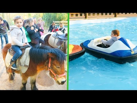 VLOG - PONEY & MANÈGES au Parc de la Tête d'Or