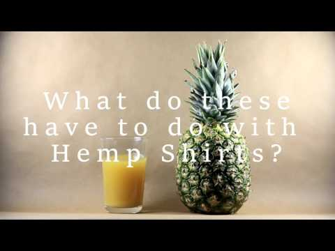 What do Hemp Shirts and Pineapples have in common?