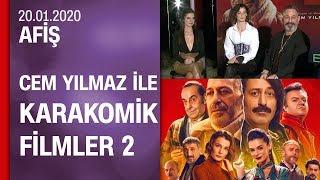Cem Yılmaz ve başrol oyuncuları Karakomik Filmler 2'yi anlattı - Afiş 20.01.2020 Pazartesi