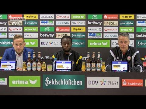 26. Spieltag | VFB - SGD | Pressekonferenz vor dem Spiel