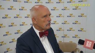 Janusz Korwin-Mikke o uchodźcach (rozmowa z Superstacją 06.09.2015)