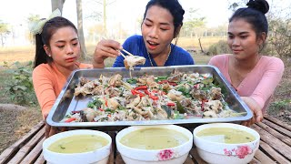 Cooking chicken soup with vegetable and coconut milk recipe - Cooking skill