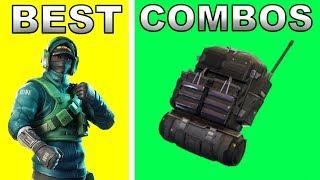 REFLEX SKIN + BACKBLING COMBOS! | Best Backbling Skin Combos | Fortnite Battle Royale Season 7