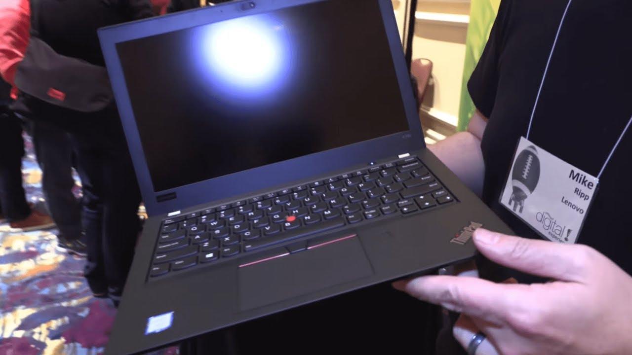 899 Lenovo Thinkpad X280 2018 On Gen8 Intel Kaby Lake Youtube