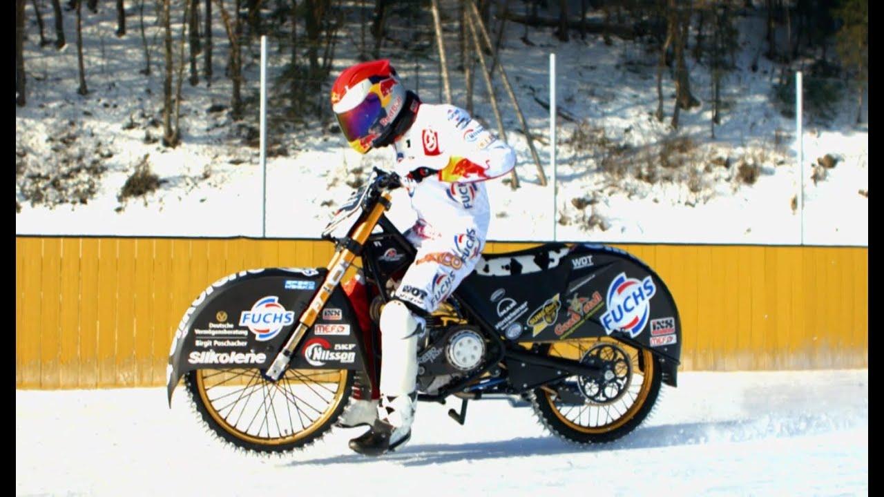Ice Speedway Racing Mikkel B Jensen Franz Zorn 2013 Youtube