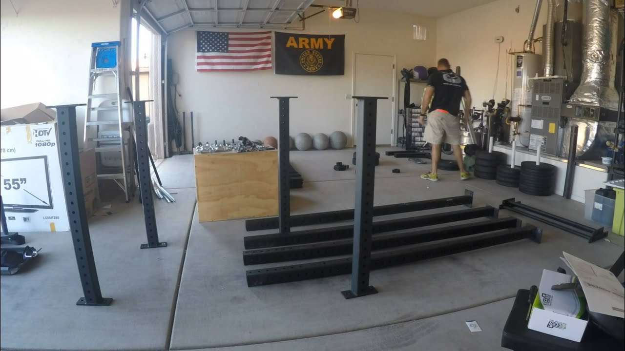 Garage gym setup youtube