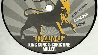 King Kong & Christine Miller - Rasta Live On + Dubbin On (YouDub Sélection)