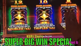 ★SUPER BIG WIN★ KURI Slot's Super Big Win Special Part 6 ★☆4 of Slot Bonus games☆ $2.00~$3.00 Bet☆彡