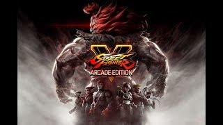 Street Fighter V multiplayer gameplay(PC)[HD]
