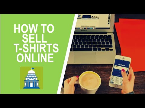 How to sell shirts online