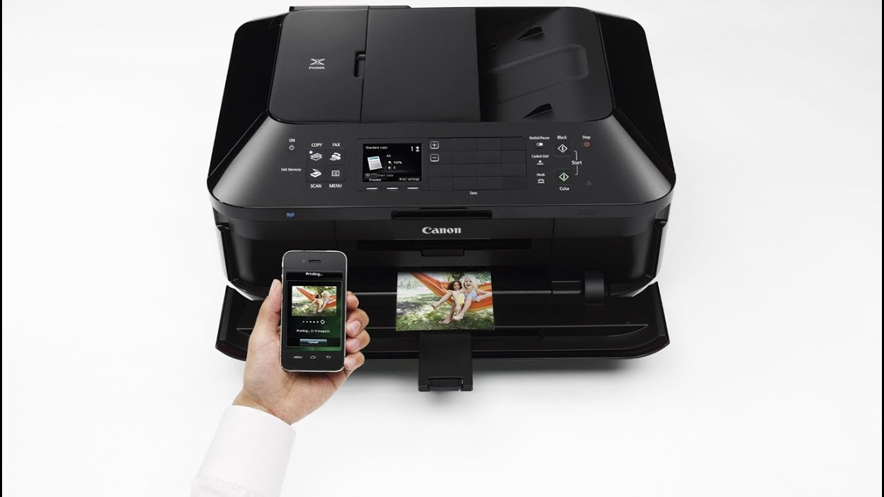 Canon PIXMA MX922 - Wireless All in One Printer (Unboxing ...