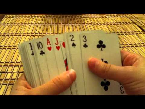Truco de magia con cartas - Adivinar carta escogida