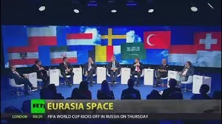 Eurasia Space: Debate at SPIEF 2018 with Peter Lavelle