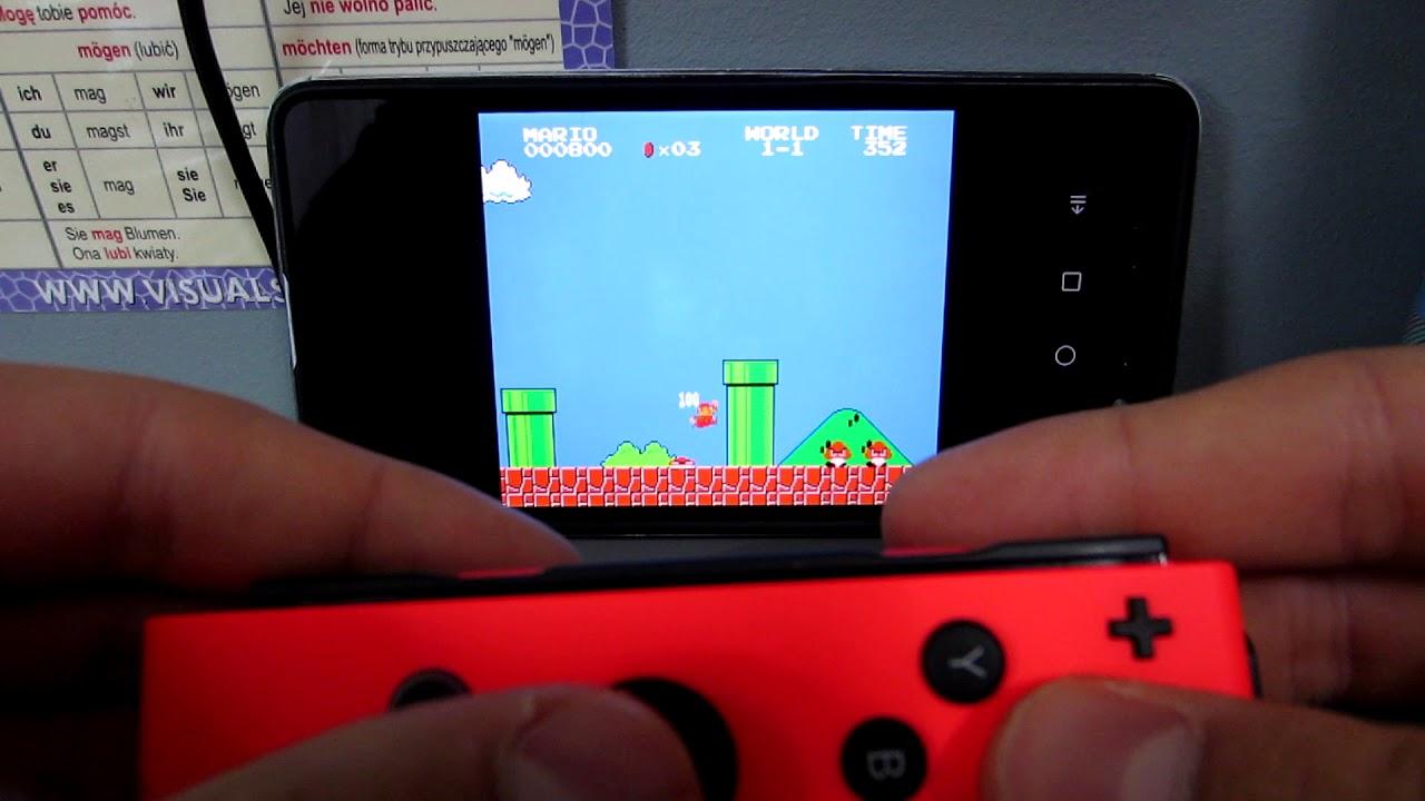 Joy - Con + Nostalgia NES emulator