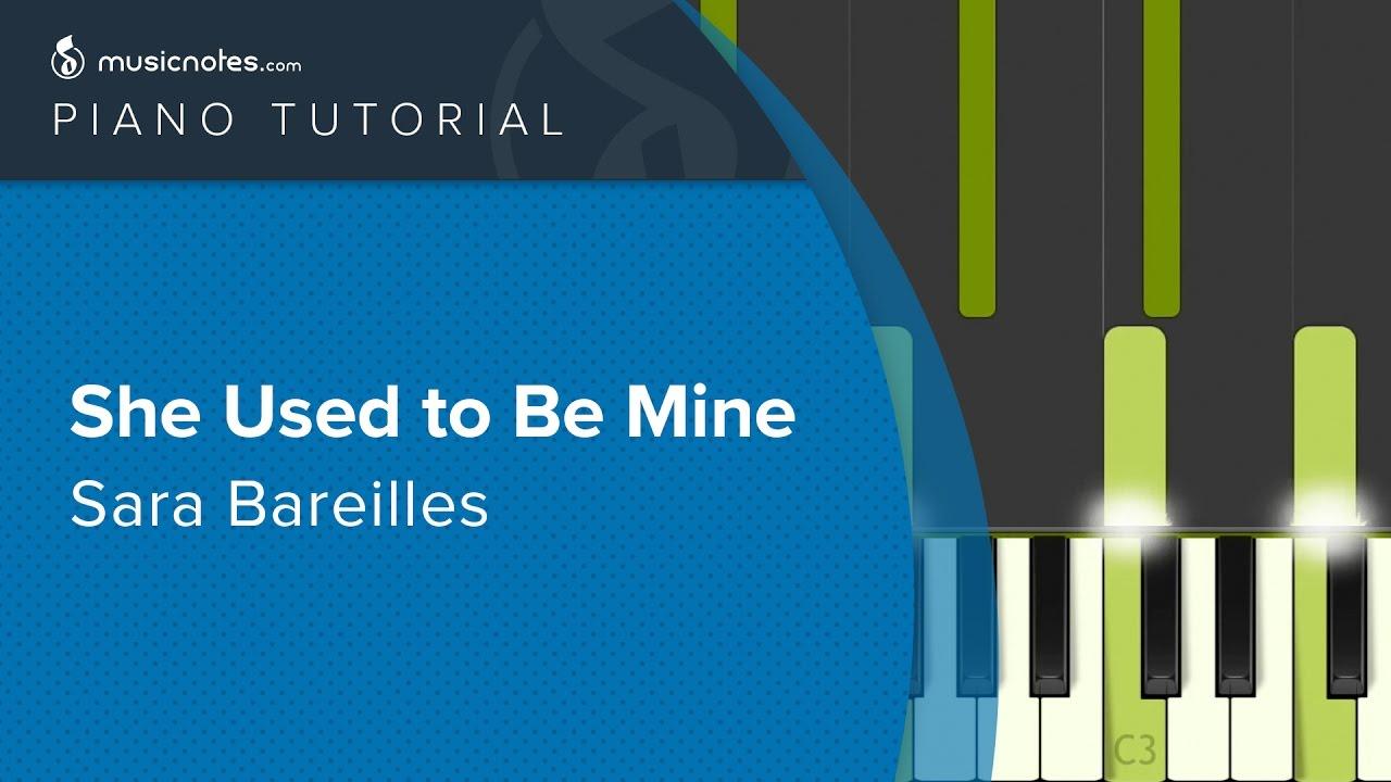 She used to be mine sara bareilles piano tutorial cover youtube - Ed sheeran dive chords ...
