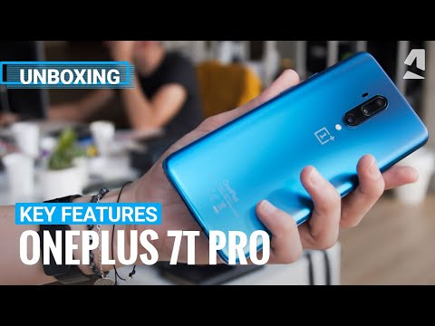 OnePlus 7T Pro unboxing and key features