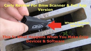 Carly For BMW Review Coding Bmw E60..... DO NOT BUY CARLY FOR BMW UNTIL YOU WATCH THIS!!!!!