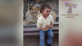 FORGET cats funny kids vs zoo animals are way funnier trynot.... funny #
