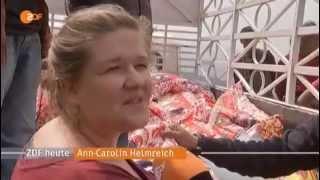 """""""Hilfe für Nepal"""" Bericht ZDF heute 09.Mai 2015"""