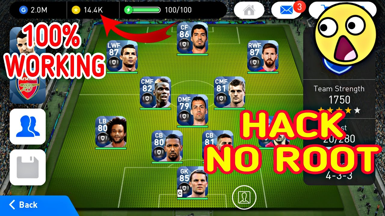 PES 2018 Hack For Android - No Root PES 2018 Hack IOS 100% Work