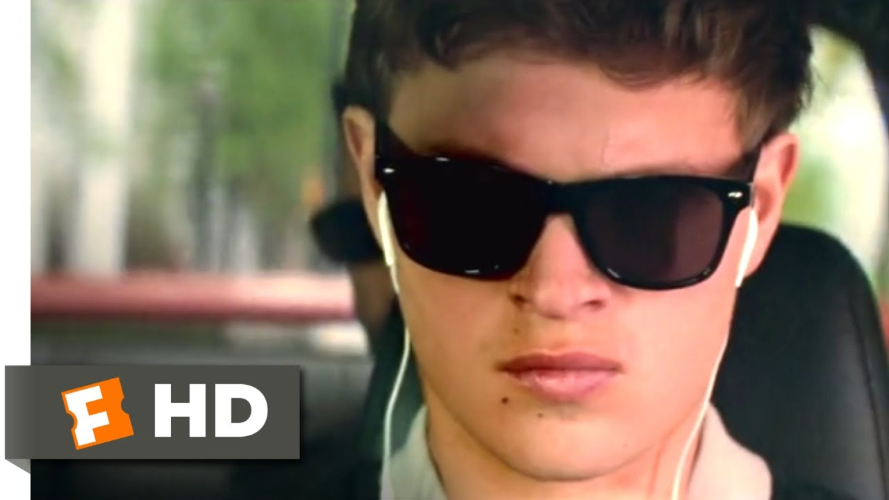 Baby Driver (2017) - Blues Explosion Chase Scene (1/10) | Movieclips