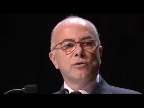 Discours d'ouverture du Congrès des avocats Pascal Eydoux et Bernard Cazeneuve