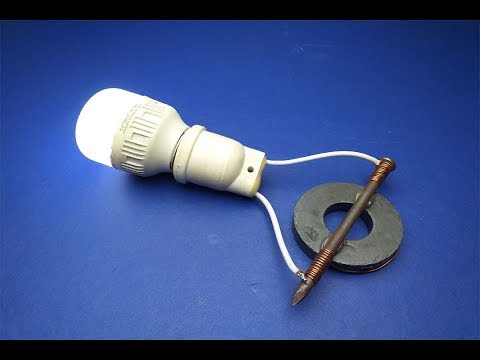 Free Energy Generator by Using Magnets With Nail 100% At home