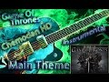 Game Of Thrones Main Theme Instrumental Cover Tabs mp3