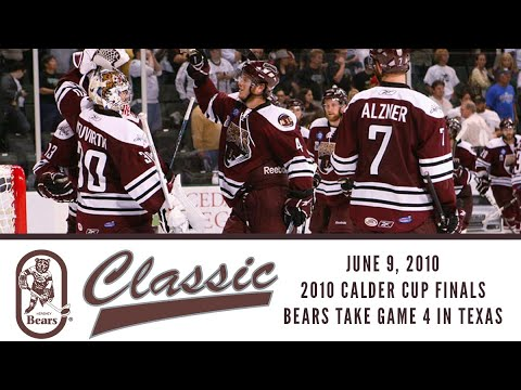 Hershey Bears Classic (June 9, 2010--Calder Cup Finals, Game 4 at Texas)