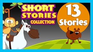 Short Stories for Children | 13 Stories | Gingerbread Man Story, Lion and Mouse Story